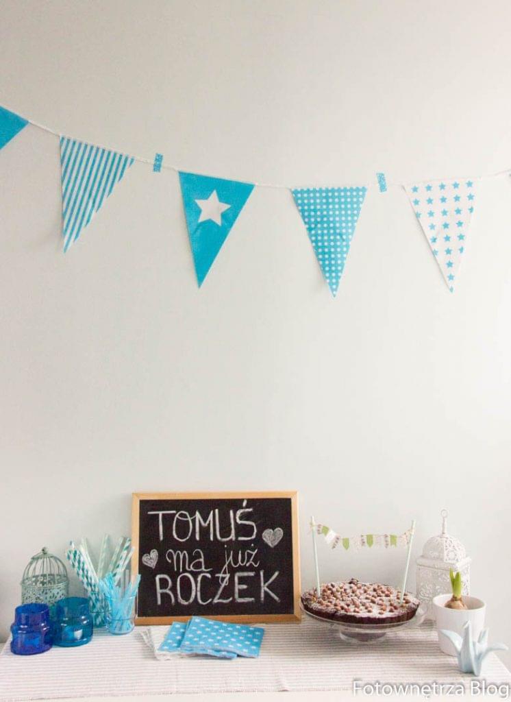dekoracje na pierwsze urodziny