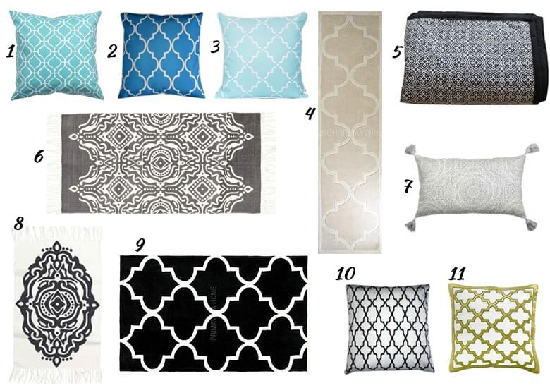 dodatki w stylu marokańskim